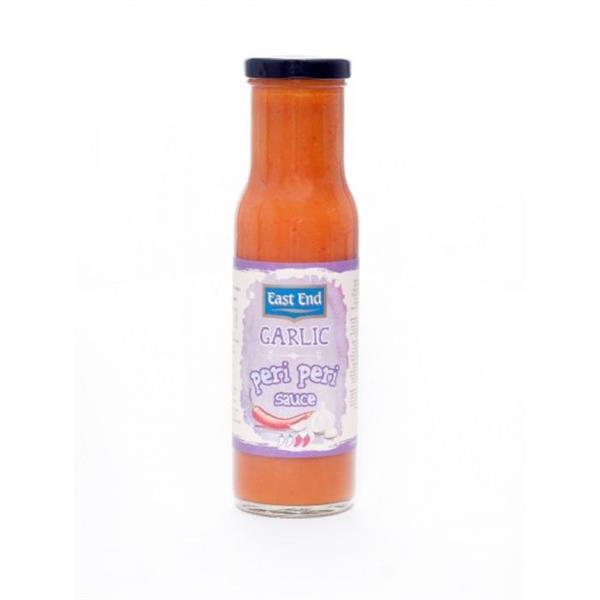 East End Peri Peri Sauce Garlic 6x250g
