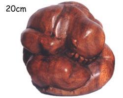 Träsnideri - Yogi 20cm (6 pack)