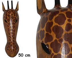 Mask - Giraff 50cm (6 pack)
