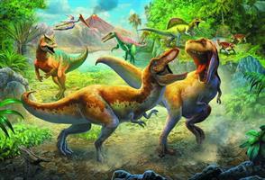 Puslespill Dinosaurer, 160 brikker