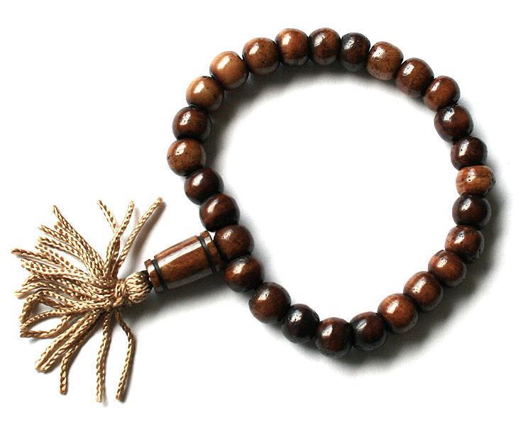Mala - Armband Tibet brun (12 pack)