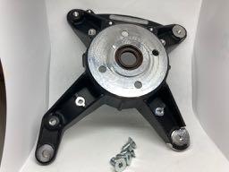 (MP003) ENGINE CARTER SUPPORT, BLACK (MANUAL START