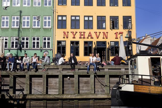 Utelivet i Köpenhamn.