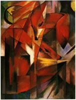 Puslespill Franz Marc, Foxes, 1000 brikker