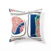 Kuddfodral Manhattan 50x50 dubbelsidig