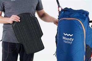 Lättvikts ryggskydd Woody Vally