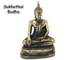 Brons - Miniatyr Buddha Thailand (2 pack)