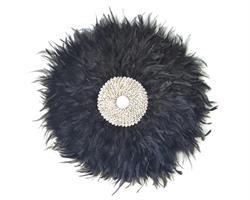 Papua - Väggdekor svart 50cm (2 pack)