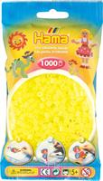 Hama perler Midi, Neon Gul 207-34 1000stk
