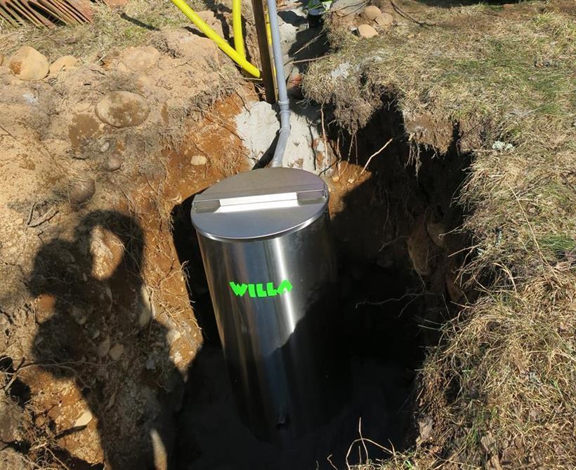 Willa gråvattenrenare för BDT avlopp