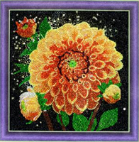 Diamond Painting, Georgine 30*30cm (AC835) GLITTER