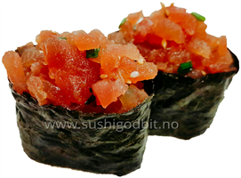 Tunfisk tartar (2 biter) *F,SE,S