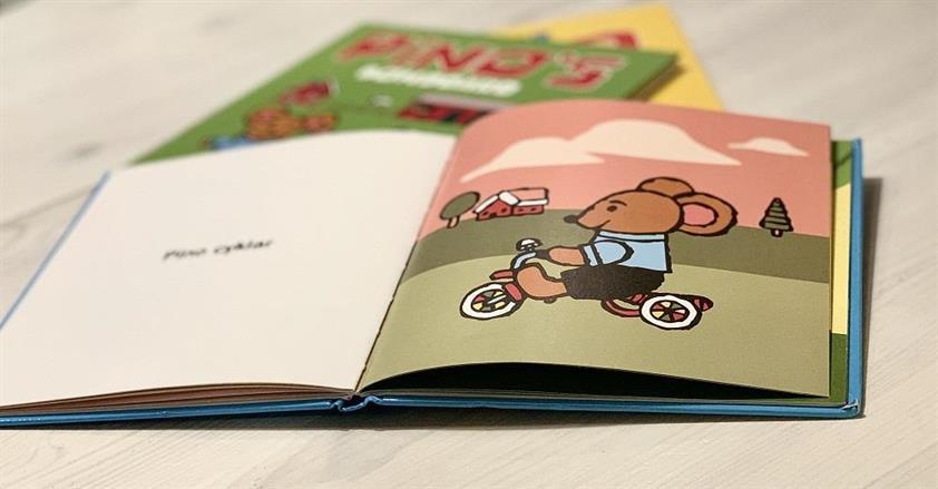 Pedagogiska barnböcker - Pino