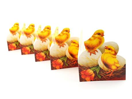 Kycklingar och ägg, pappersrad