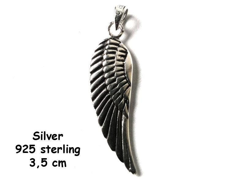 925 Silver - Angelwing I (4 pack)