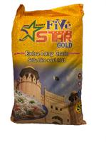5 Star Gold Sela Basmati Rice 1x20kg