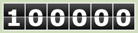 100 000 tyytyväistä asiaksta