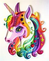 Diamond Painting, Unicorn Hest 40*50cm (XING428) FPR