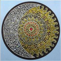 Diamond Painting, Mandala 24*24cm (R8027) AP