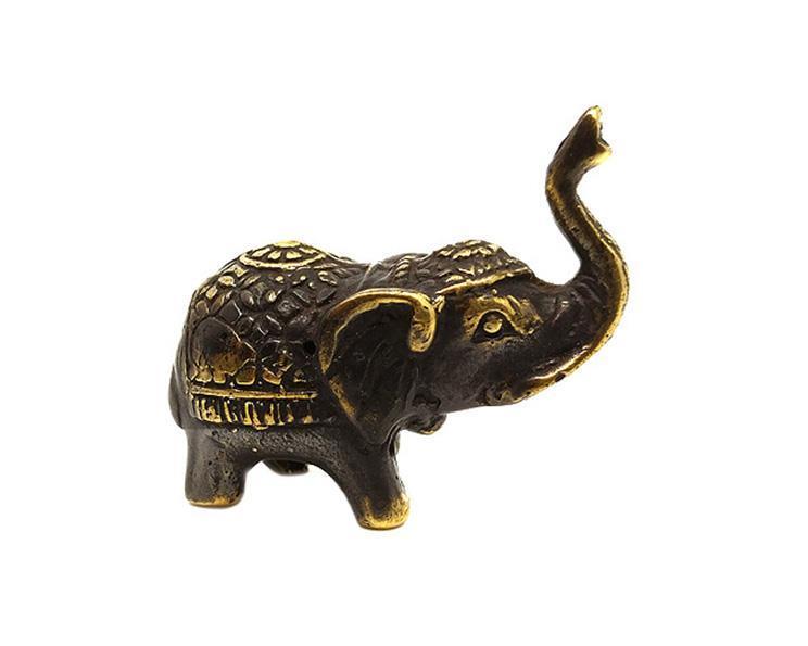 Brons - Elefant mini (6 pack)