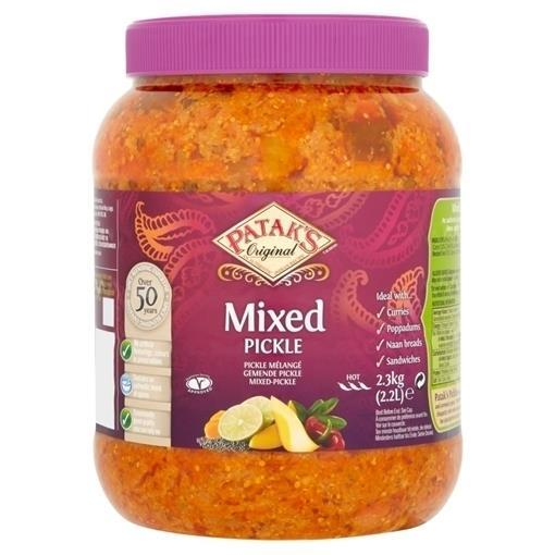 Patak Mixed Pickle 2x2,5kg
