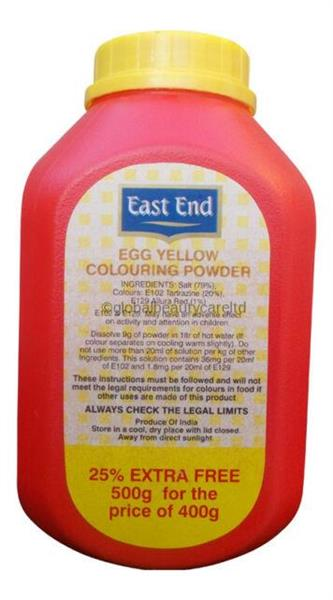 East End Egg Yellow Colouring Powder 1x500g