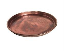 Vintage Indien - Järnbricka koppar S (2 pack)