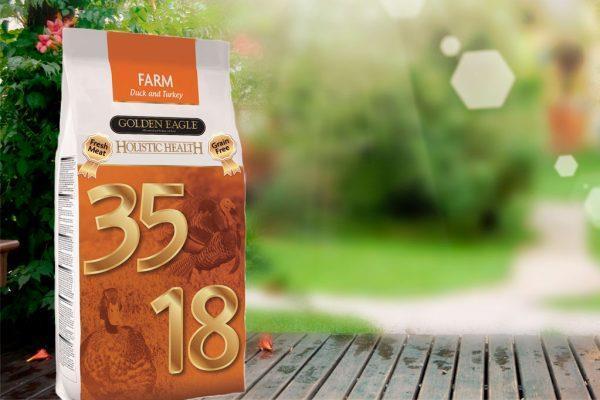 Golden Eagle Fresh Meat. Farm formula