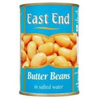 East End Butter Beans Tin 12x400g