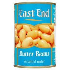 East End Butter Beans Tin 12x400g