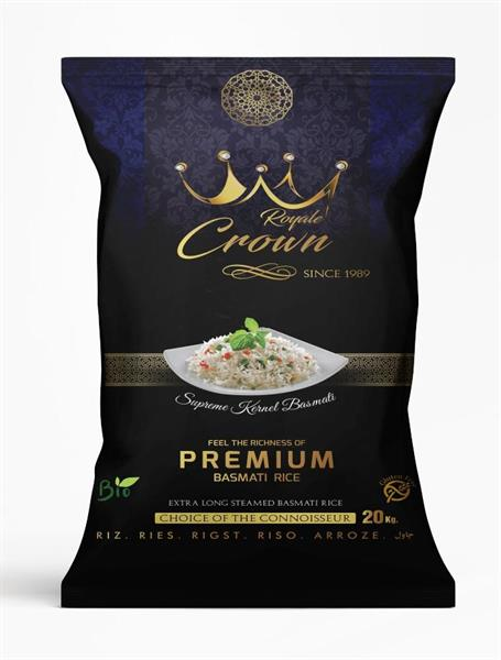 Royale Crown Premium Basmati Rice 4x5kg