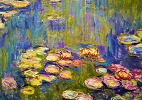 Puslespill Monet, Nympheas, 1000 brikker