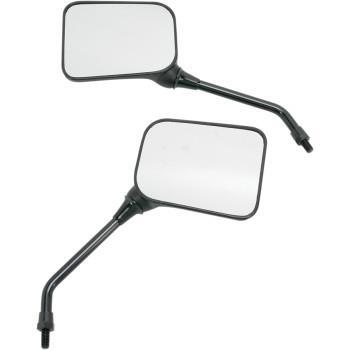 8 mm. Universal Matte Black Mirrors,