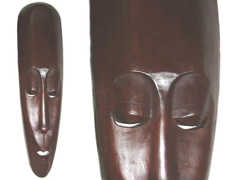 Mask - Mahogny 100cm (2 pack)