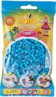 Hama perler Midi, Azurblå 207-49 1000stk