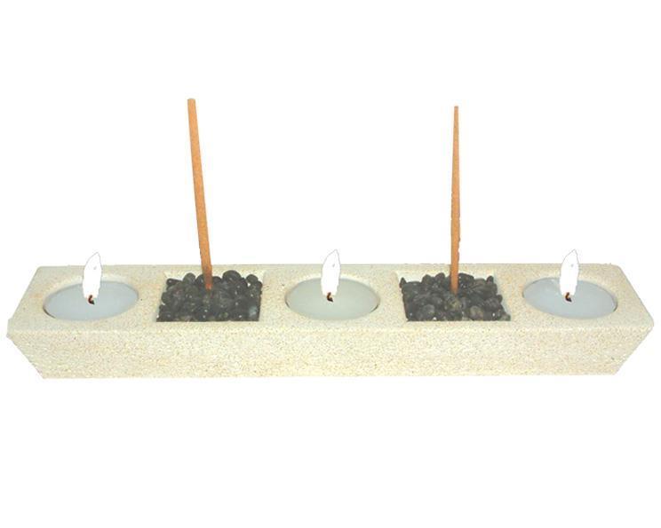 Teljushållare - Gypsum night (2 pack)