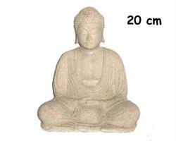 Buddha - Vit 20cm (2 pack)