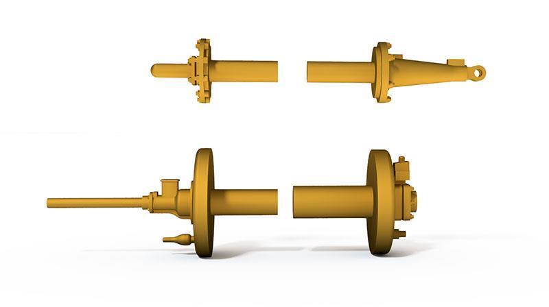 Gjutdel - Cylinderlock Sb-lok - H0.