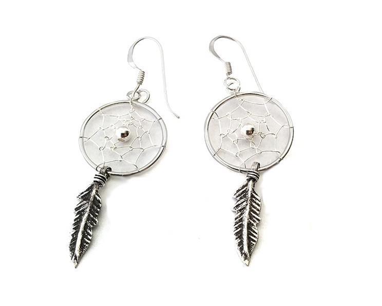 925 Silver - Örhängen drömfångare I (5 pack)