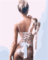 Mal etter nummer, Ballerina 40*50cm