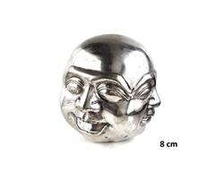 Brons - Silver Buddha m. fyra ansikten (4 pack)