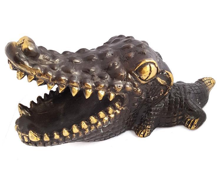 Brons - Baby krokodil (2 pack)