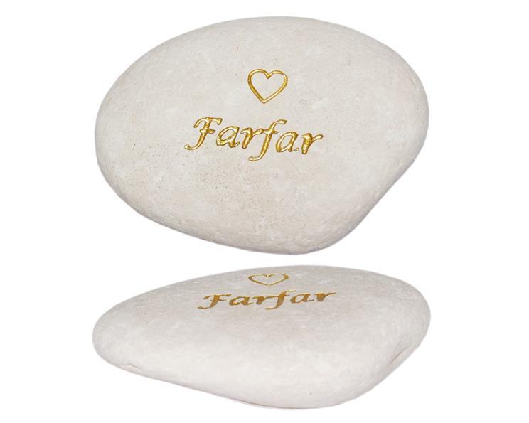 Vit sten - Farfar (12 pack)