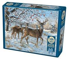 Puslespill Winter Deer, 500 brikker