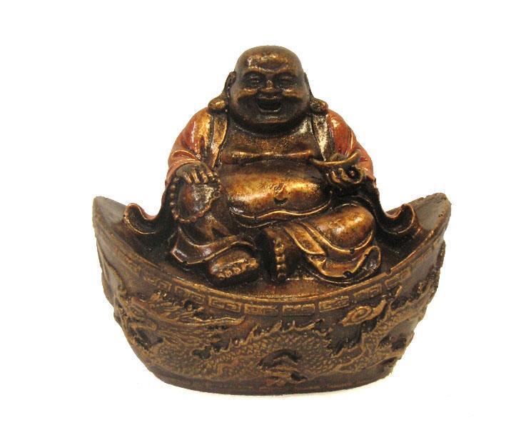 Happy Buddha - Guld (6 pack)