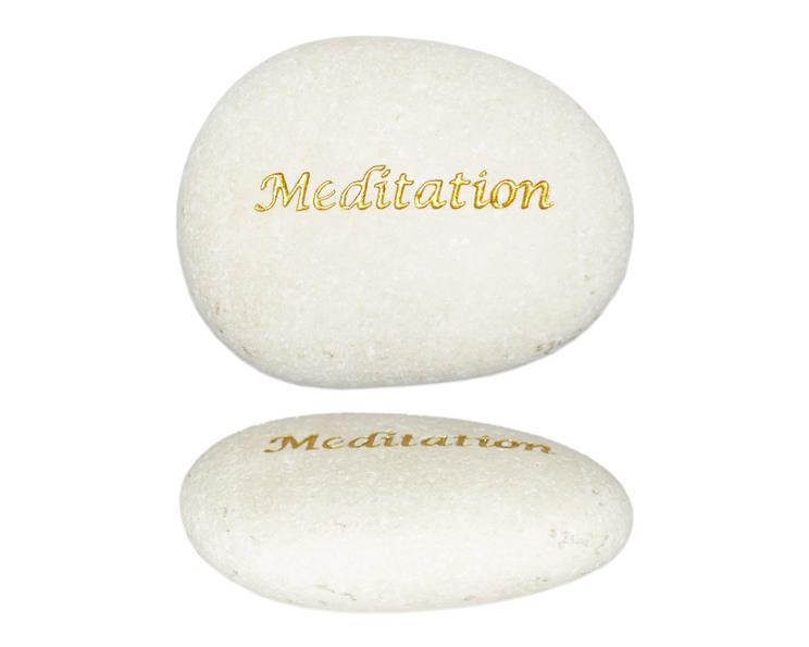 Vit sten - Meditation (12 pack)