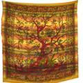 Sängöverkast - Tree of Life jordfärger (3 pack)