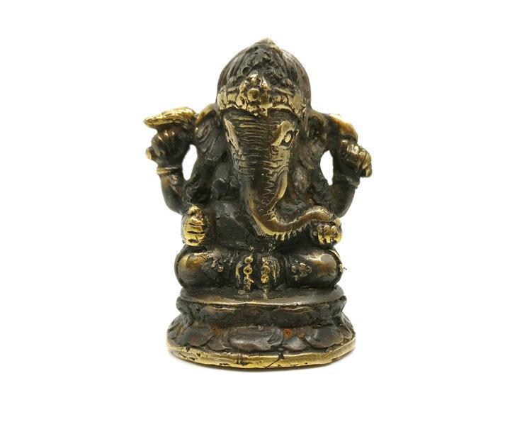 Brons - Ganesha mini 6cm (6 pack)