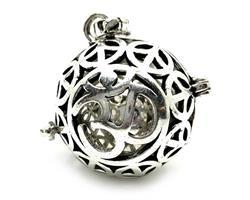 Bola - Änglapingla silverpläterad brons OM (4pack)