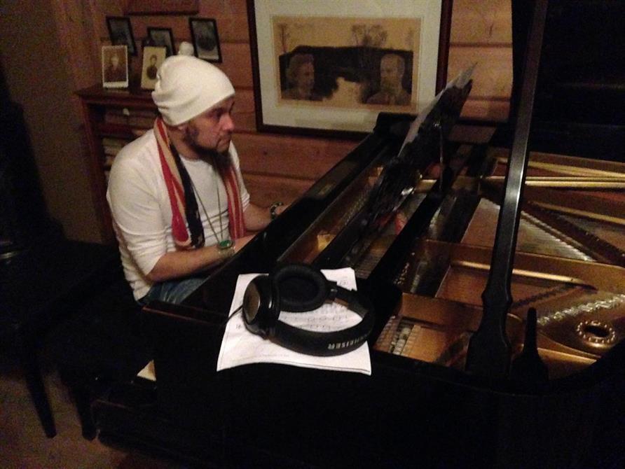 Reza Aghamir - innspilling på Trollhaugen med verker av Grieg. Utgitt på Grappa forlag